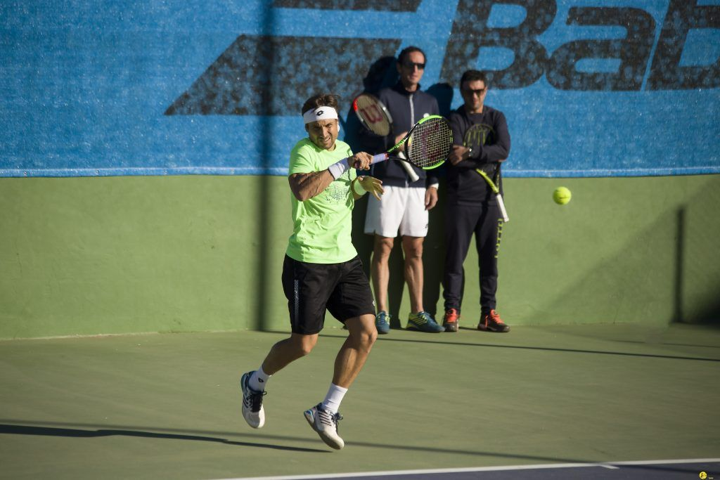 Javier Ferrer joins the team of David Ferrer on his last tour as a professional tennis player