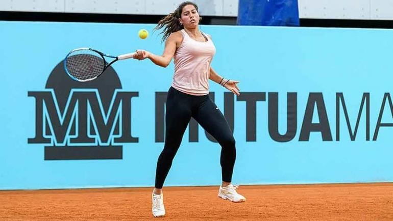 Debut de Jessica Bouzas en el Mutua Madrid Open