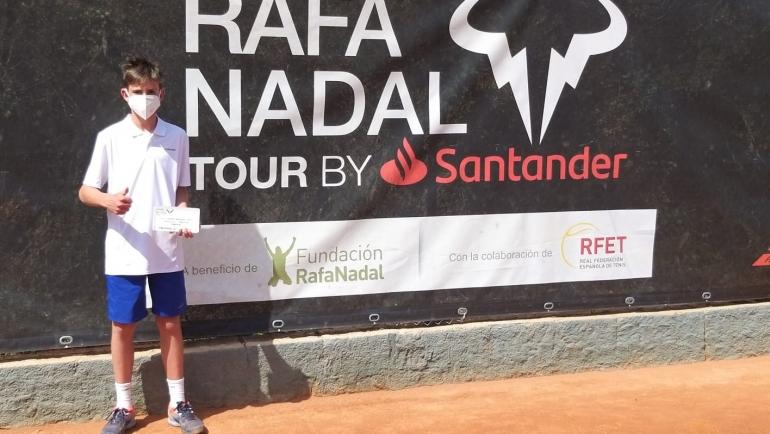Keoni Puig ganador del Torneo Rafa Nadal Tour