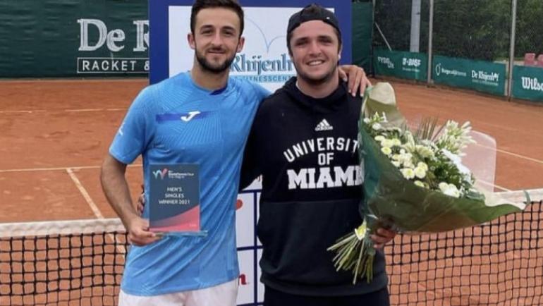 Javier Barranco ganador del ITF25 en La Haya